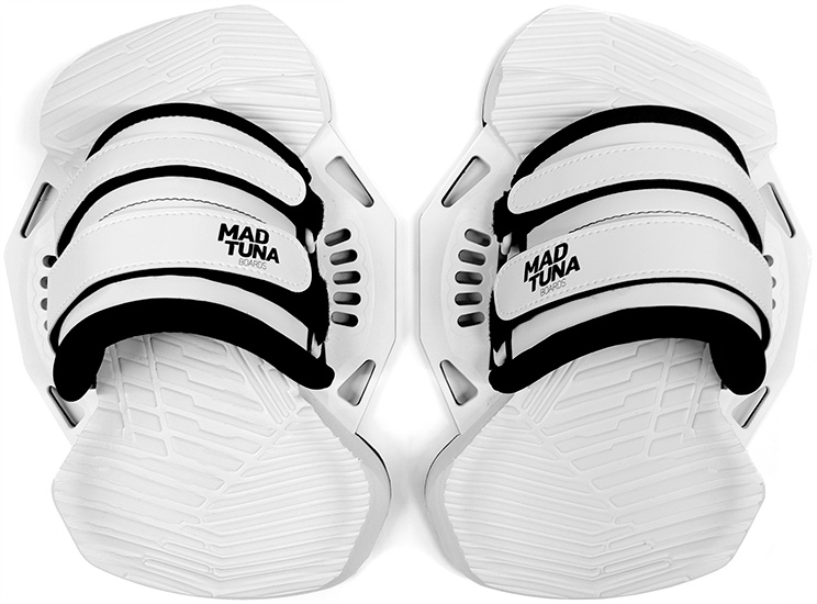 MAD TUNA Boards pads and straps 2020 white